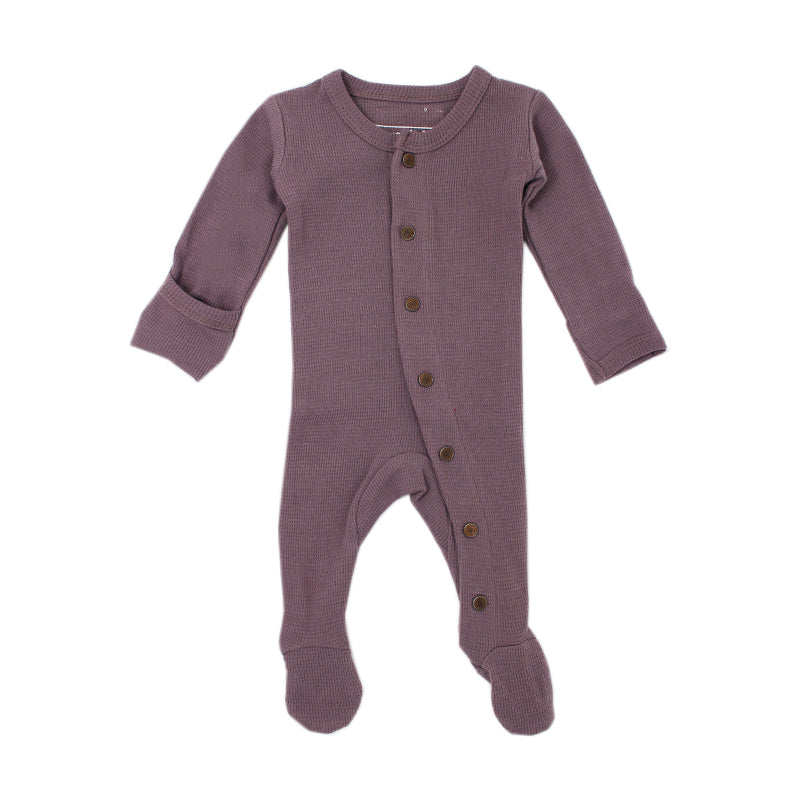 L'ovedbaby Organic Thermal Footed Overall