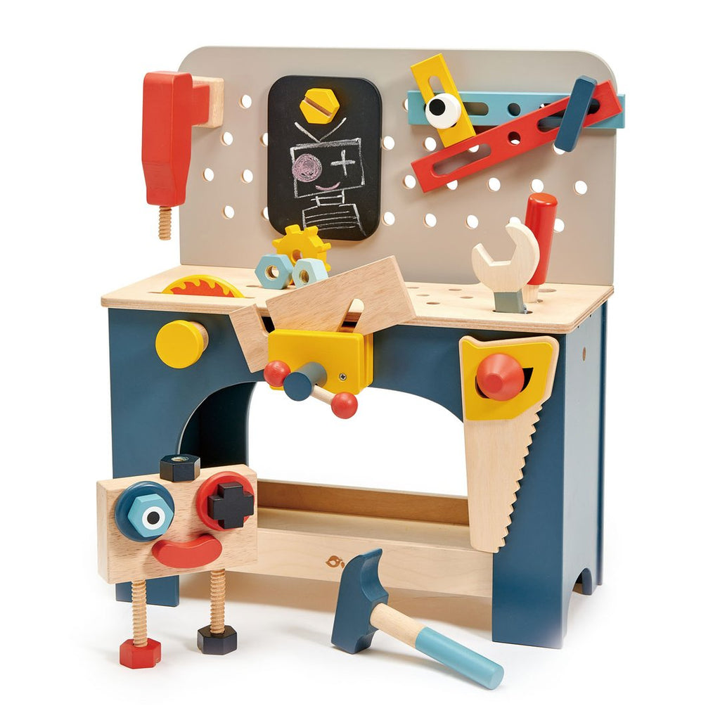 Tender Leaf Toys Tabletop Tool Bench