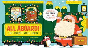Abrams Appleseed Books - All Aboard the Christmas Train