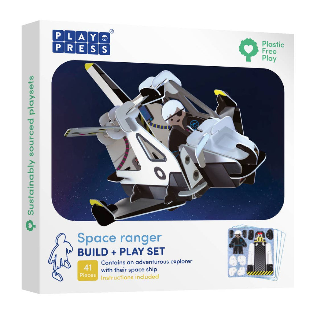 PlayPress Space Ranger Pop-out Play Set