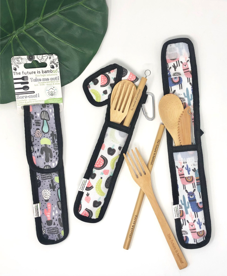 The future is bamboo - Zero Waste Utensil Kits