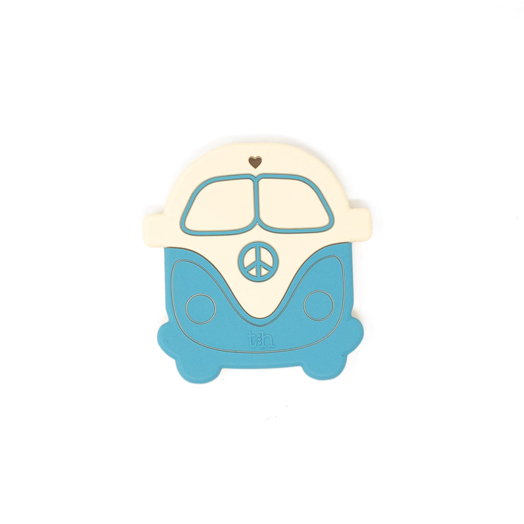 Peace Vintage Bus Silicone Teether