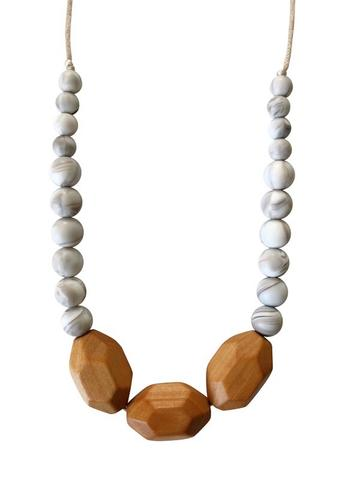 Chewable Charm - The Austin - Howlite Teething Necklace