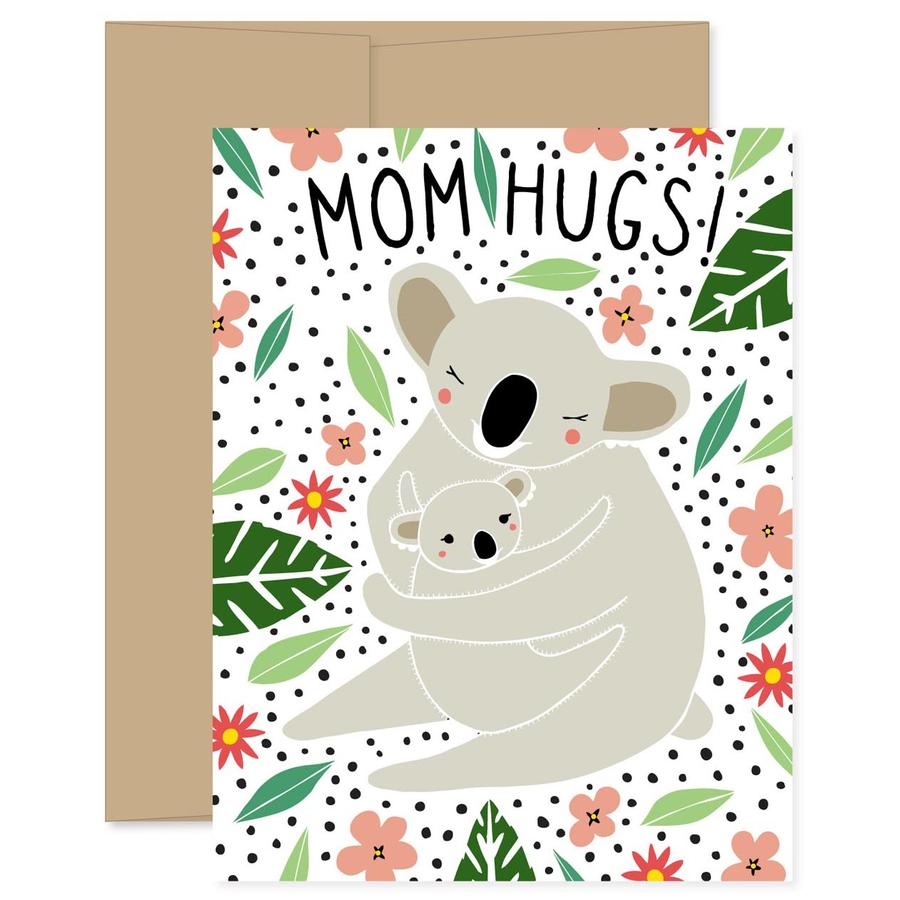 Gingiber - Mom Hug Card