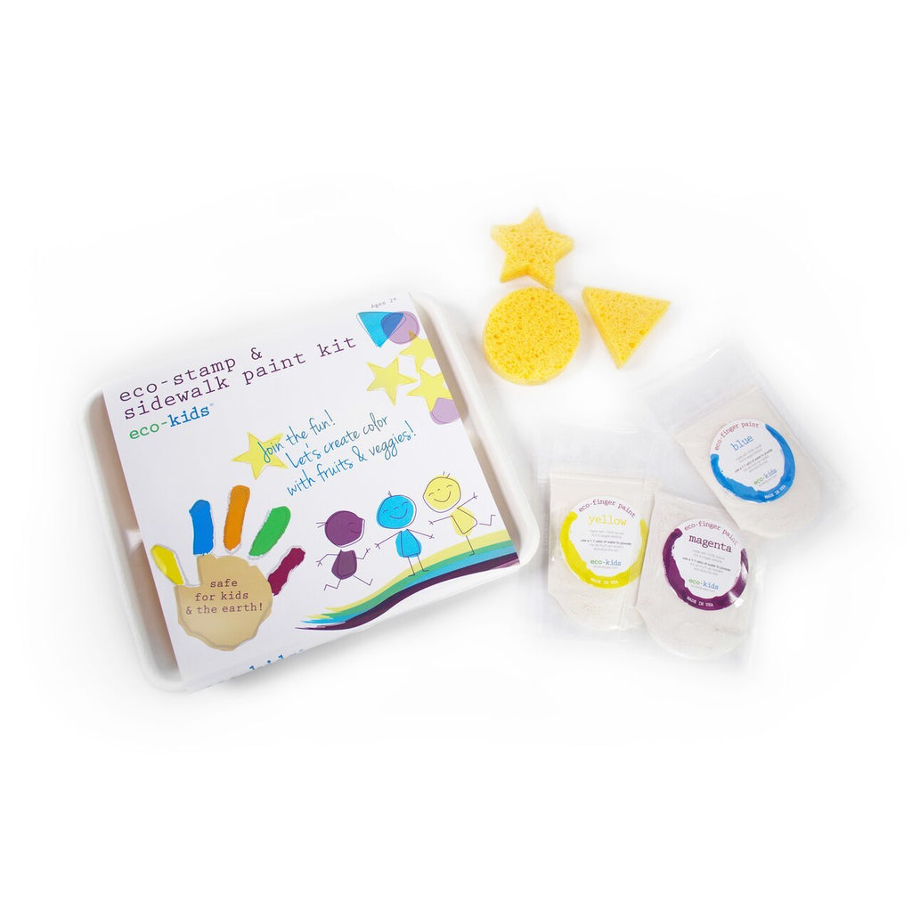 Eco-Stamp and Sidewalk Paint Kit