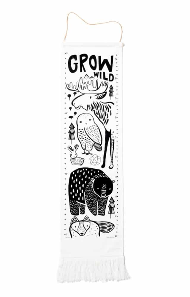 Wee Gallery - Nordic Canvas Growth Chart