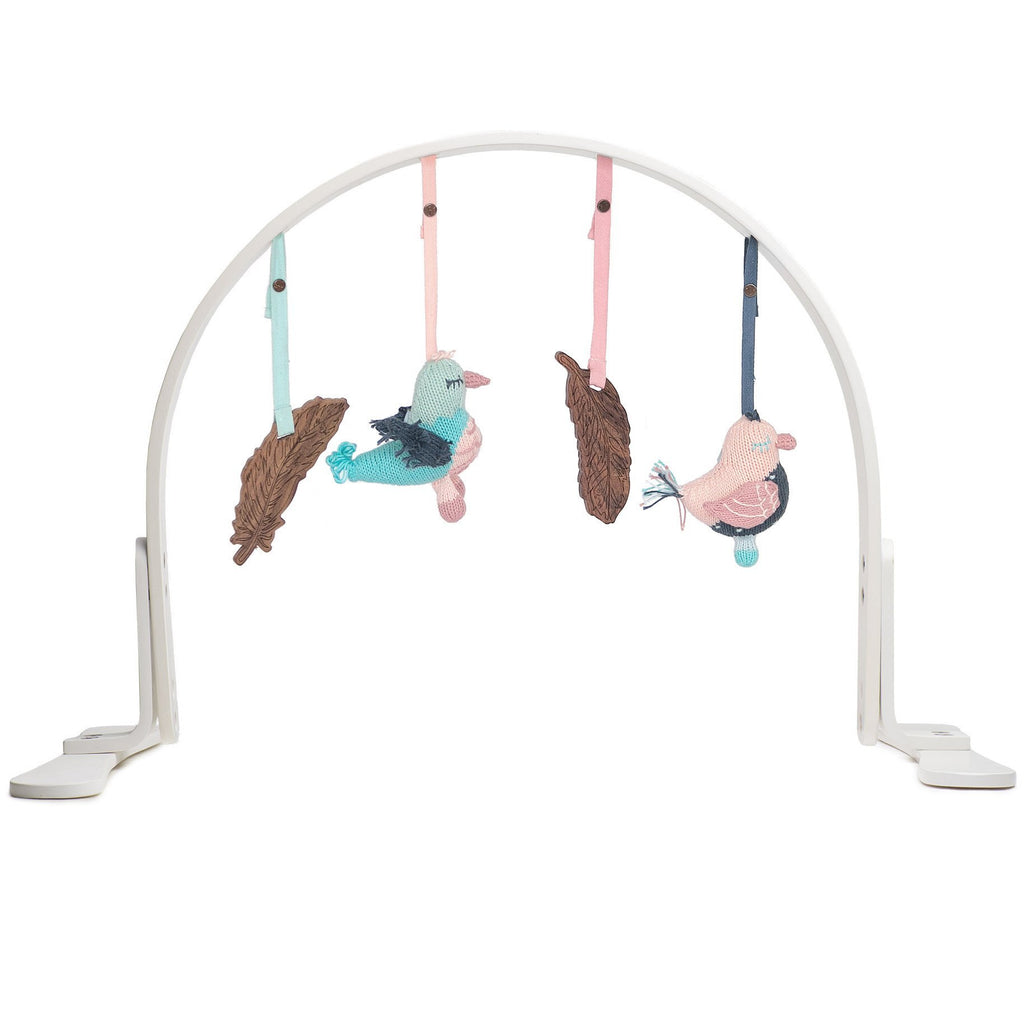Finn + Emma Feather Play Gym - White