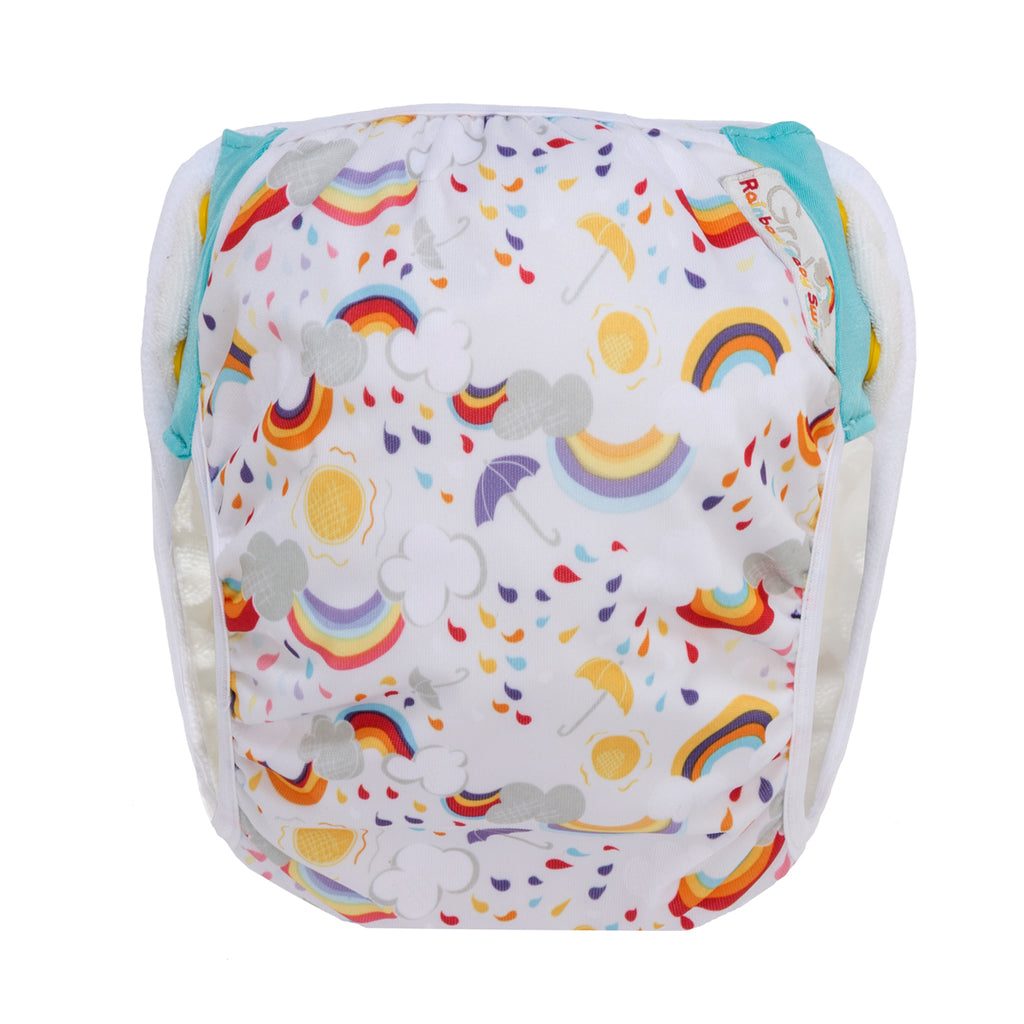GroVia Swim Diaper - Rainbow Baby