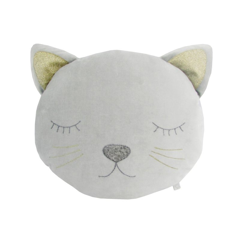 EFL Kids - Albetta - Velvet Cat Plush Pillow