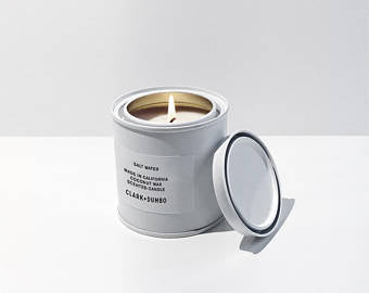 Clark + Dumbo Co. Candle Salt Water