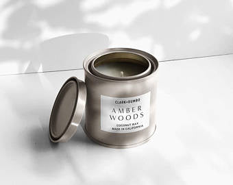 Clark + Dumbo Co. Candle Amber Woods