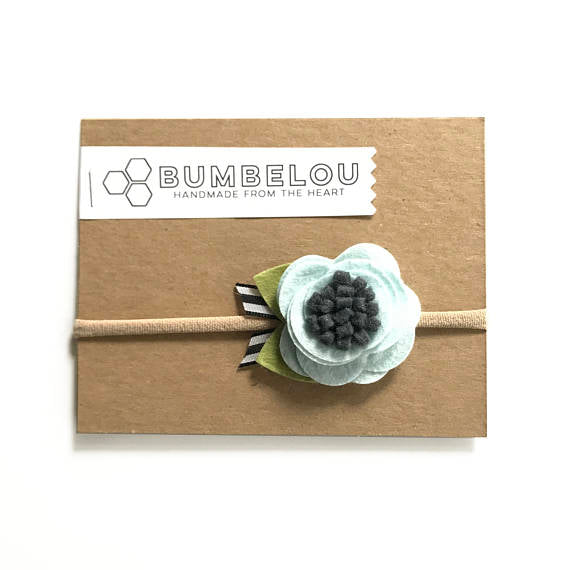 Bumbelou - Ice Blue Blossom Flower