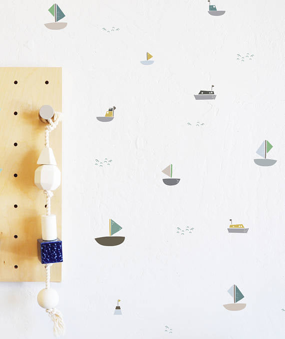 The Lovely Wall Co. Wall Decals - Come Sail Away