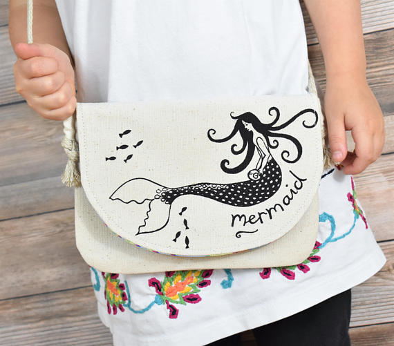 So Handmade Mermaid Bag