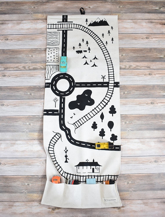So Handmade Large Village Playmat