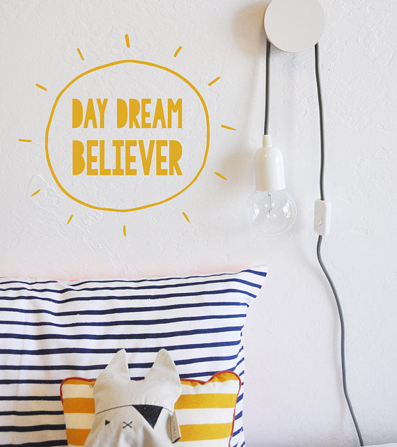 The Lovely Wall Co. Wall Decal - Day Dream Believer