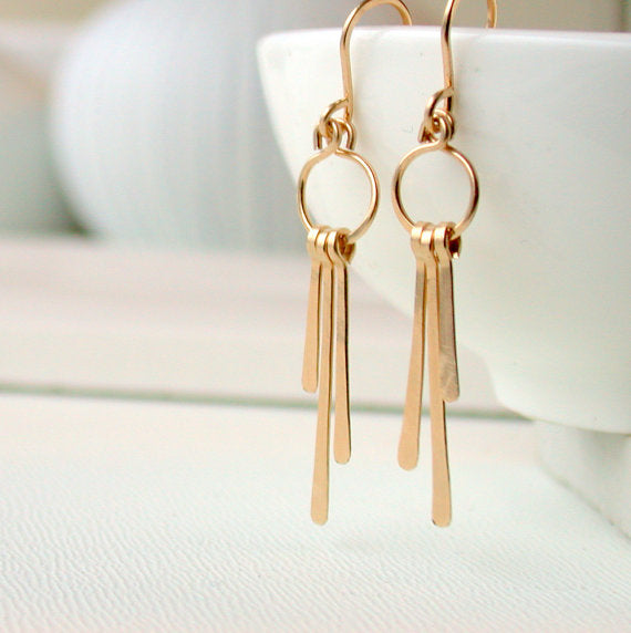 Linda Trent Jewelry Earrings - Petite Fringe