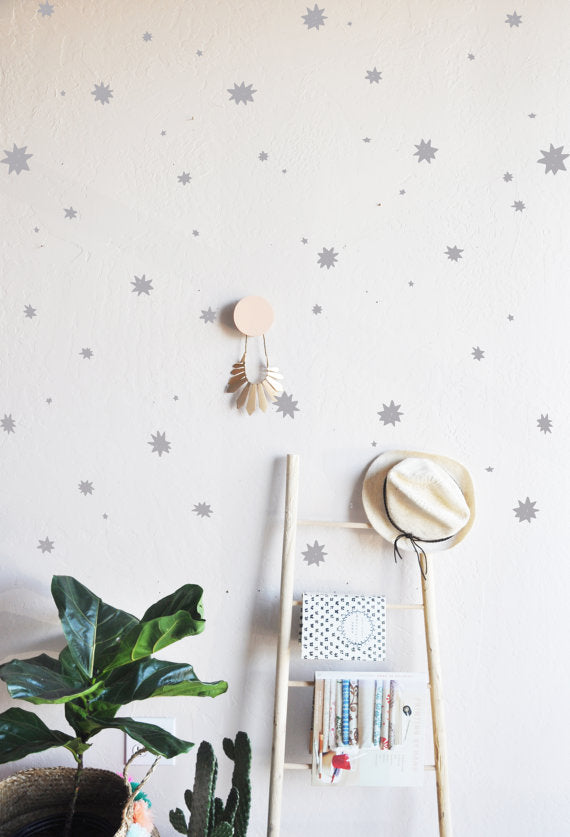 The Lovely Wall Co. Wall Decals - Paint Splatter Stars