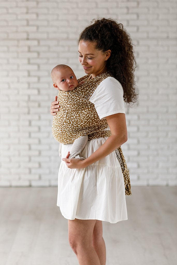 Solly Baby Wrap Carrier - Leopard