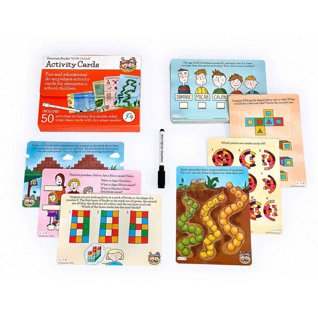 Smarties Studio Activity Cards - Ages 7-9