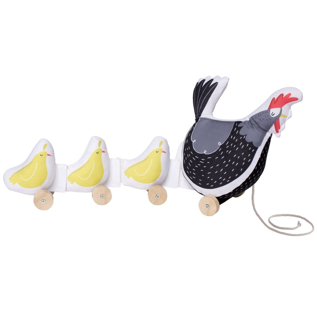 Manhattan Toy Co. Farmer's Market Chicken Pull Toy