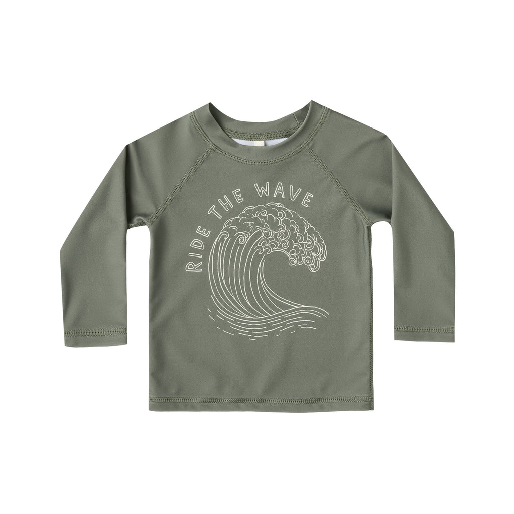Rylee + Cru Rash Guard - Ride the Wave