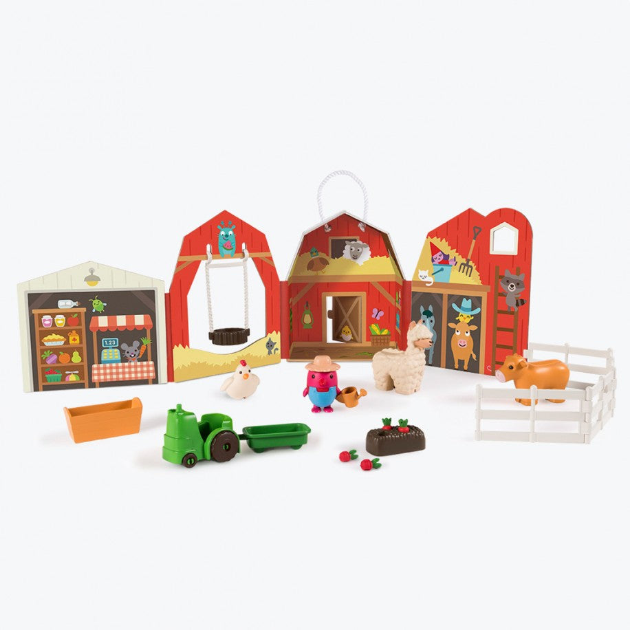 Sago Mini Portable Playset - Robin's Farm