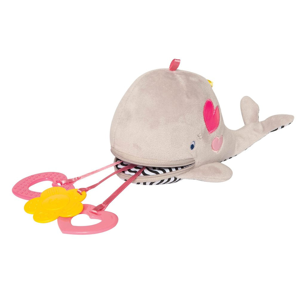 Manhattan Toy Co. Zip & Play Winnie Whale
