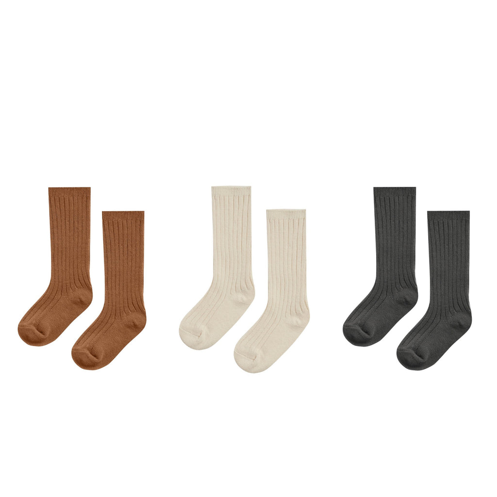 Rylee + Cru Knee Sock Set of 3