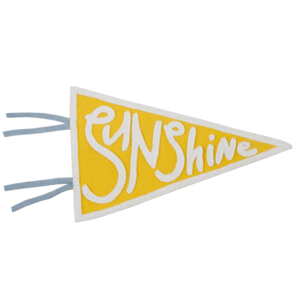 Sunshine Pennant Flag
