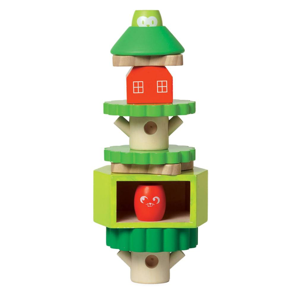 Manhattan Toy Co. Treehouse Stack-up