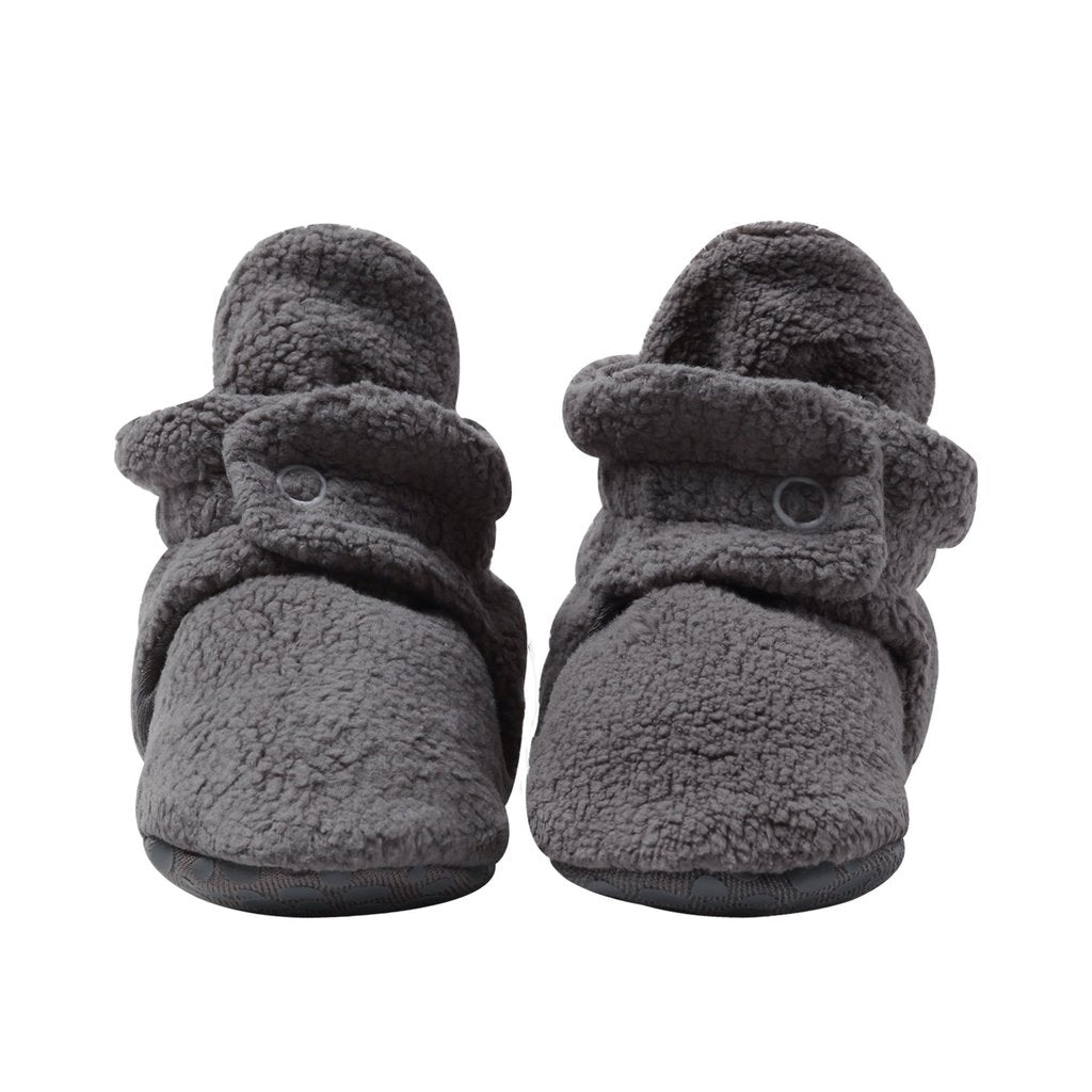 Zutano Fleece Bootie - Gray