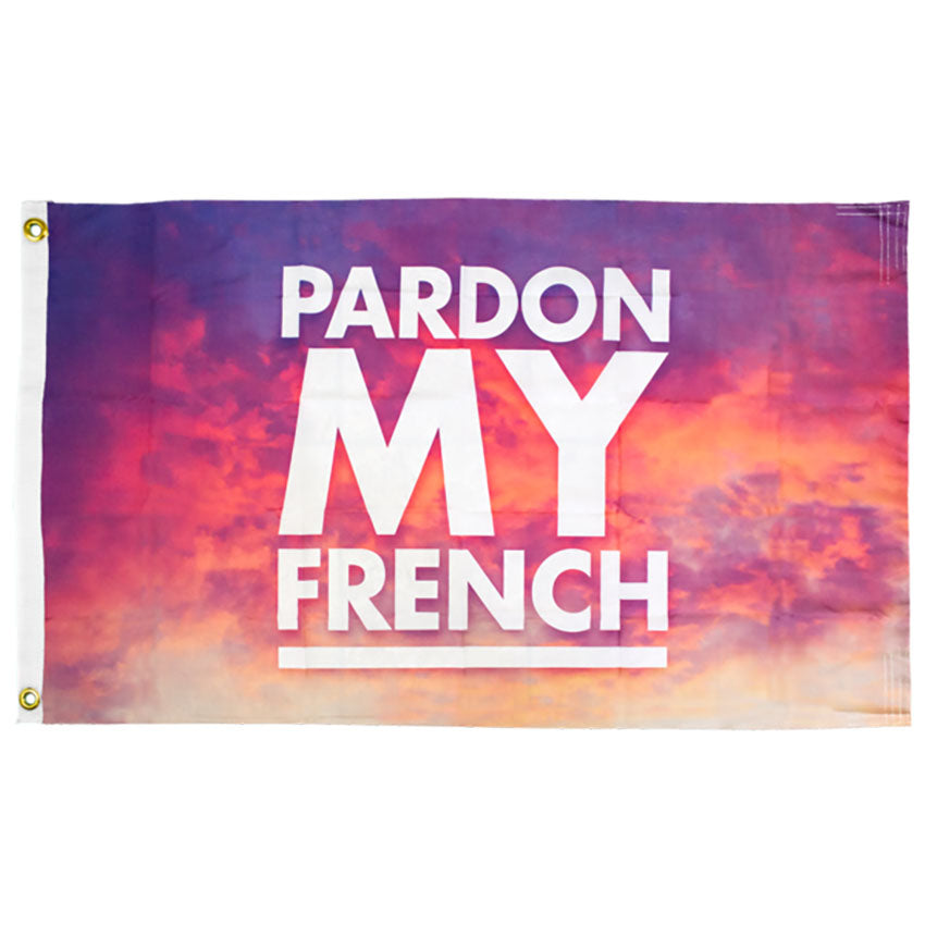 PARDON MY FRENCH FLAG