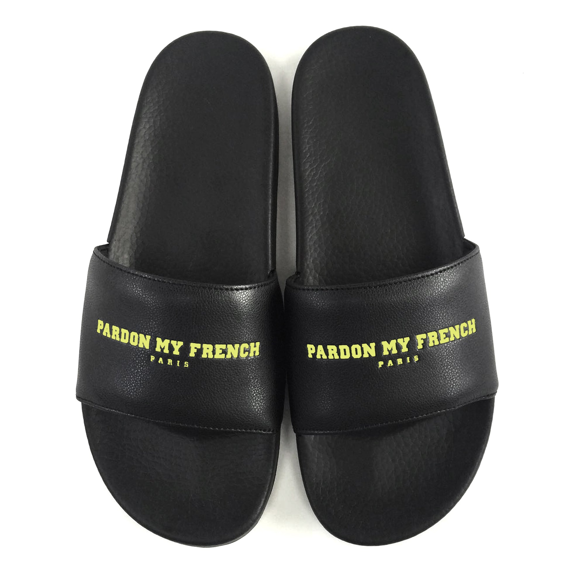 SANDALS PMF - PARIS EDITION LEMON PRINT