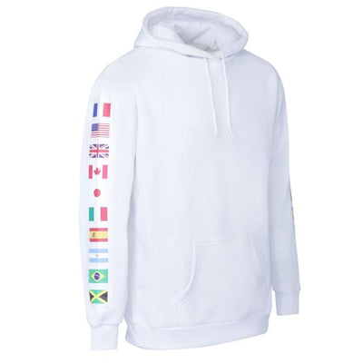 WORLD PARDON MY FRENCH HOODIE WHITE