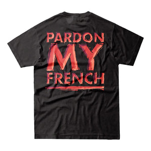 Pardon My French Black Tshirt Crew Edition