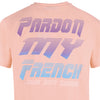 TSHIRT RETRO FUTURE PEACH