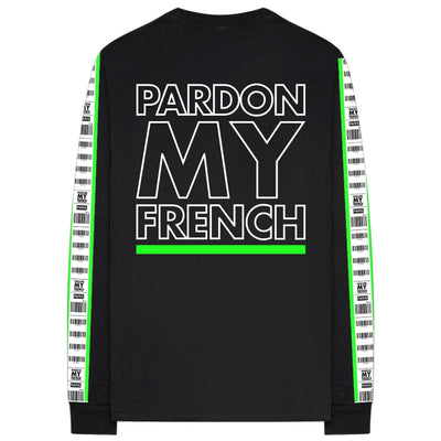 Pardon My french Long Sleeves T-shirt Charles de Gaulle Edition