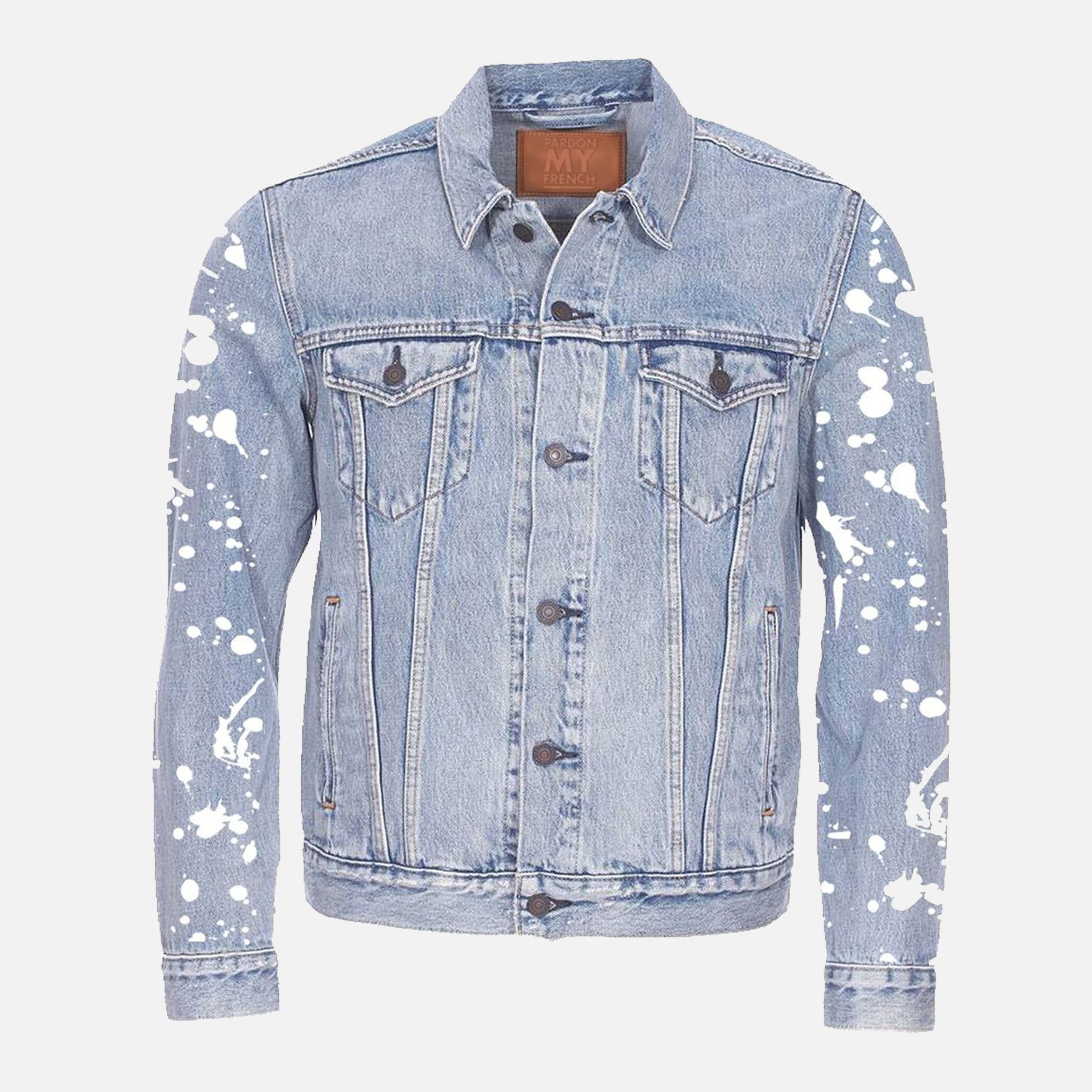 PARDON MY FRENCH DENIM JACKET