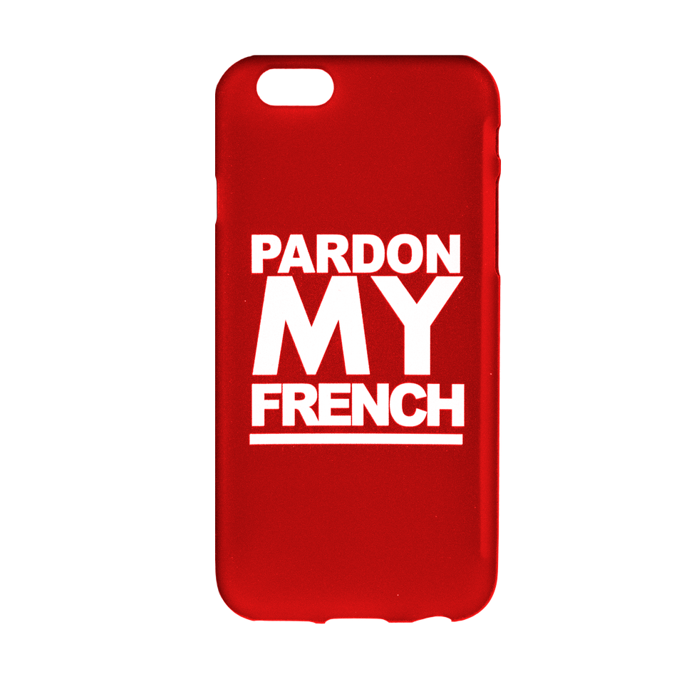 PMF IPHONE CASE RED