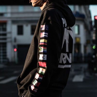 WORLD PARDON MY FRENCH HOODIE BLACK