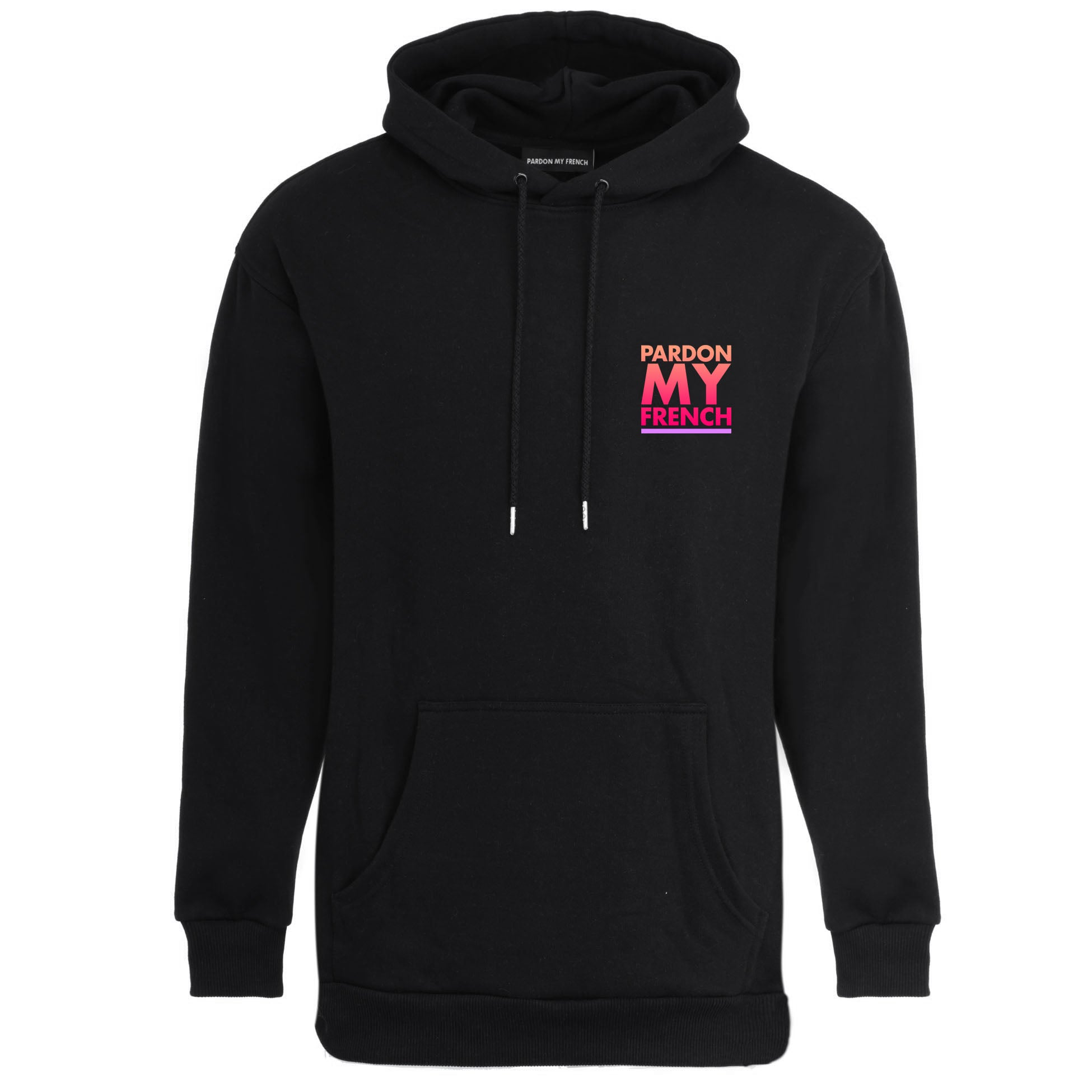 PARDON MY FRENCH SUNSET EDITION BLACK HOODIE