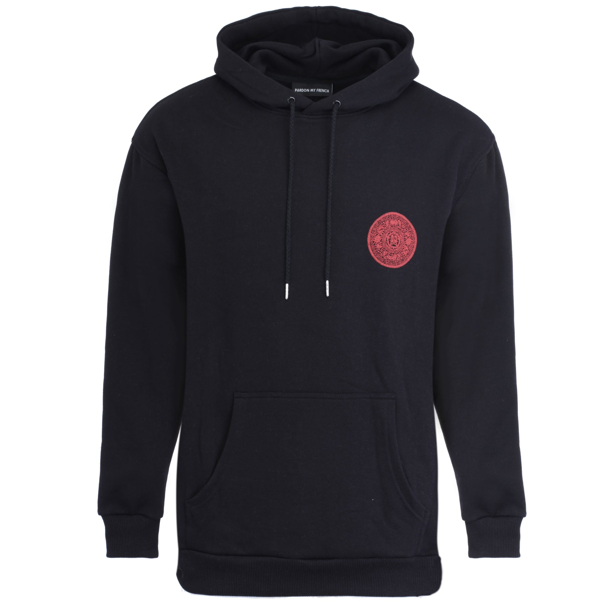 HOODIE CHINA EDITION - BLACK