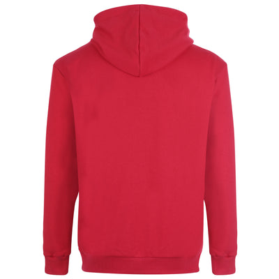 HOODIE PARIS EDITION RED WITH WHITE EMBROIDERY
