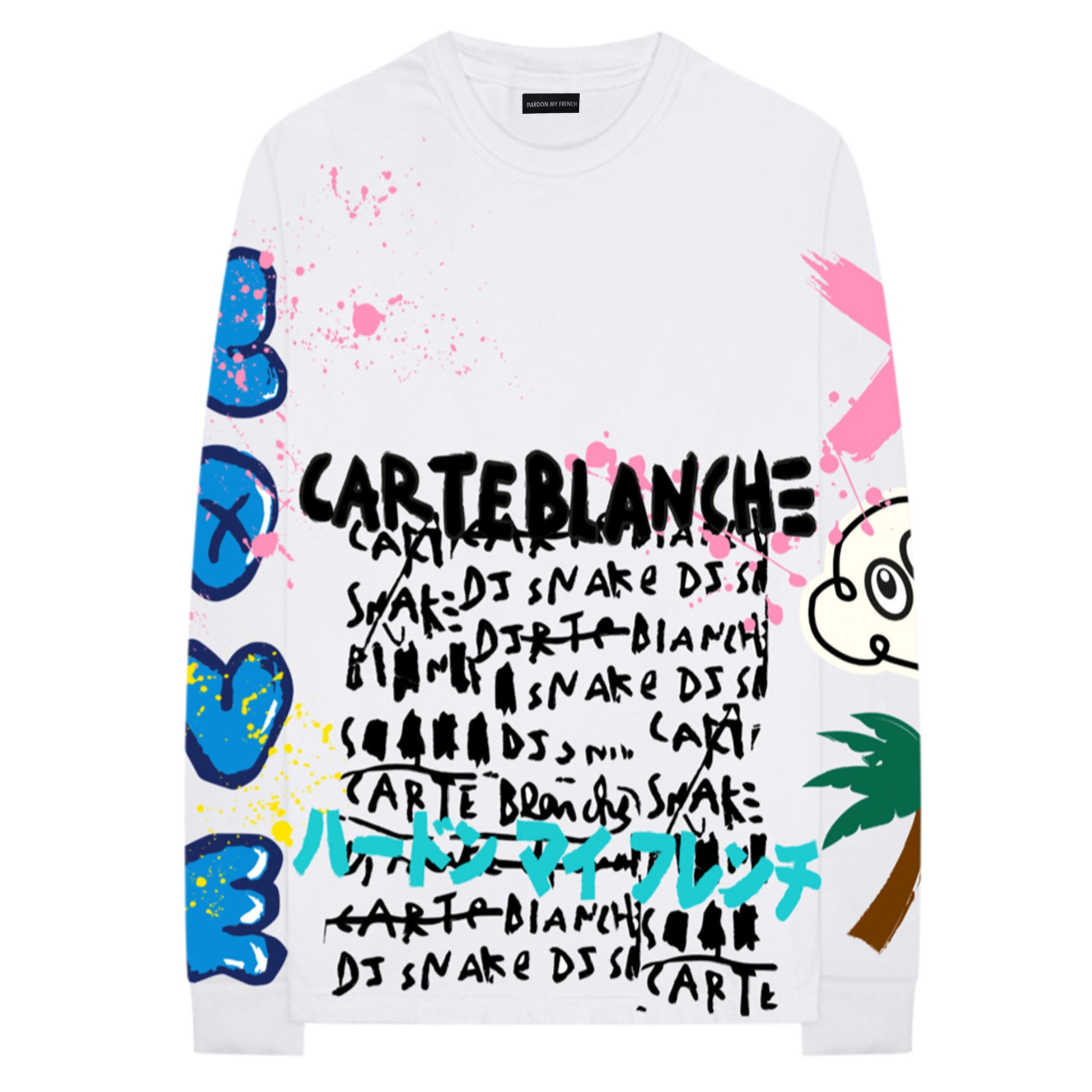 competitive price 8e5bb 2dba8 CARTE-BLANCHE LONG SLEEVE T-SHIRT - Pardon My French
