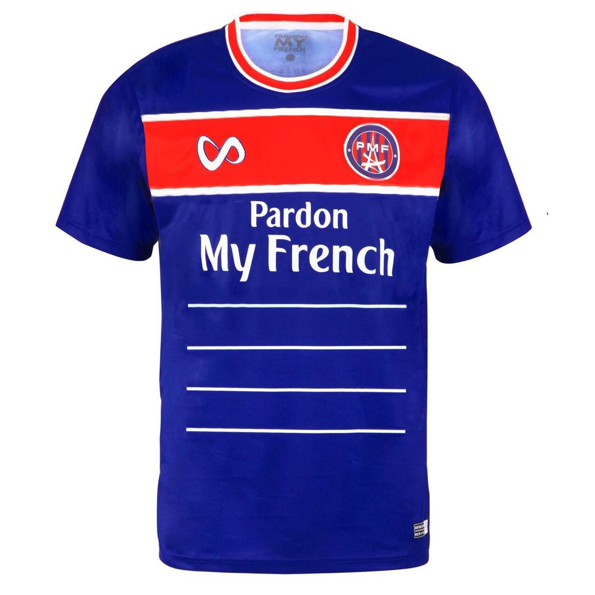 PARDON MY FRENCH JERSEY 2018