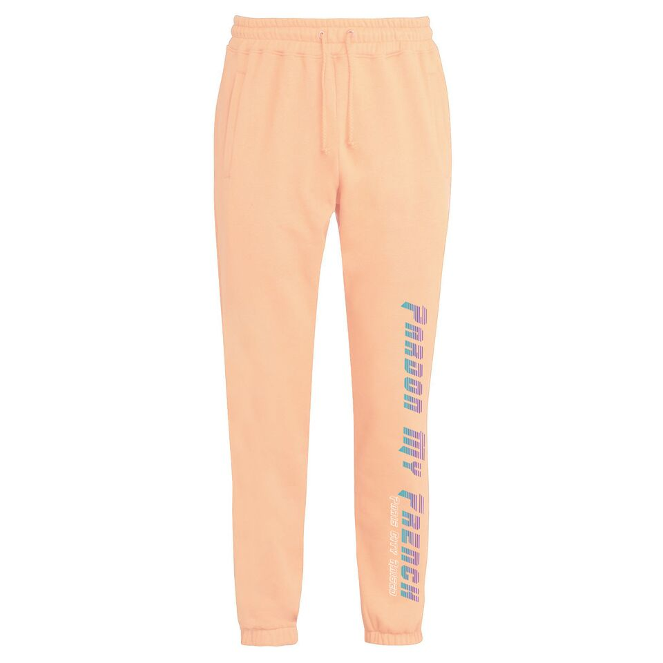 PANTS RETRO FUTURE PEACH