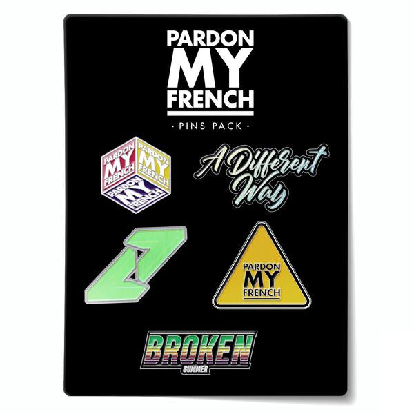 PMF PIN'S PACK (OPTION : PIN'S PACK 2)