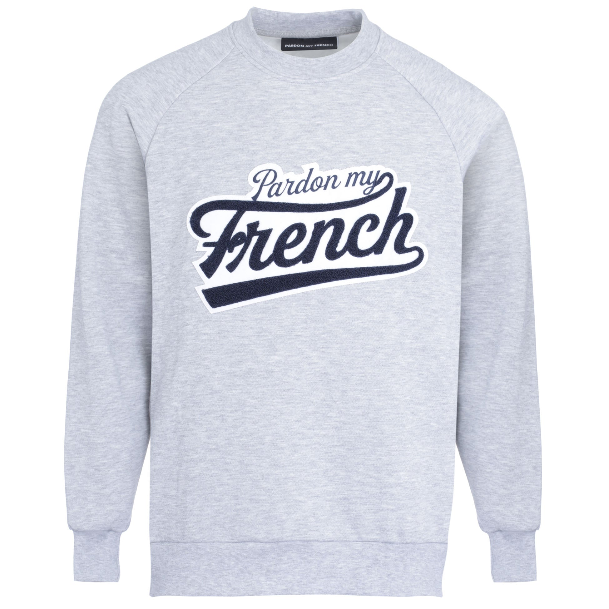 SWEAT CREW NECK COLLEGE GREY