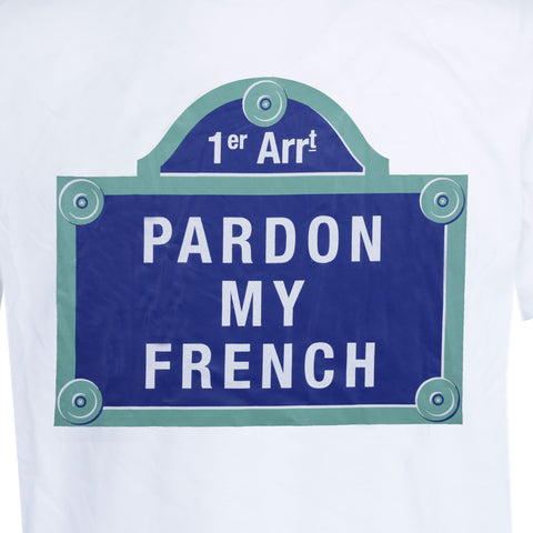 T-SHIRT PARIS STREET WHITE
